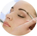 Eyelash & brow treatments at La Belle Jolie